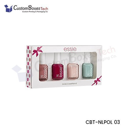 Custom Nail Polish Packaging Boxes Wholesale