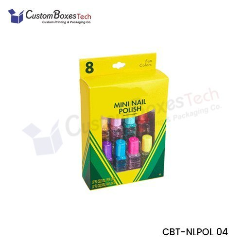 Custom Nail Polish Boxes Wholesale