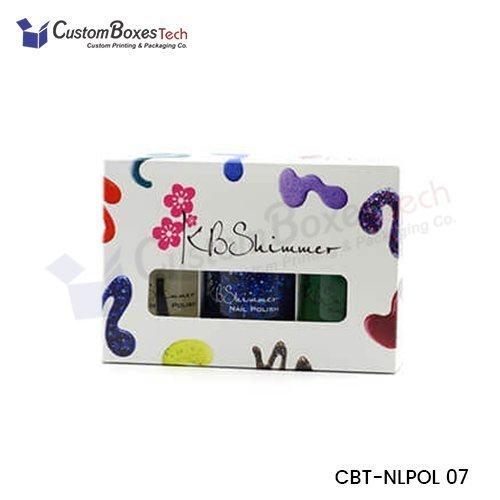 Custom Nail Polish Packaging Boxes Wholesale