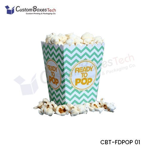 Custom Popcorn Boxes Wholesale