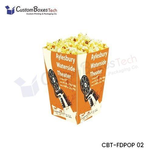 Custom Popcorn Packaging Wholesale