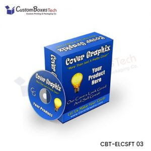 Custom Software Packaging Boxes Wholesale