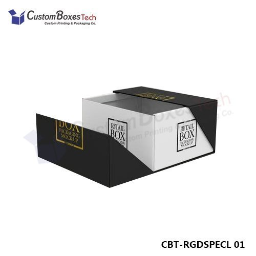 Custom Specialty Rigid Packaging Boxes