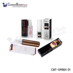 Custom Hairspray Packaging Boxes