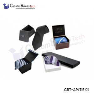 Custom Tie Packaging Boxes Wholesale