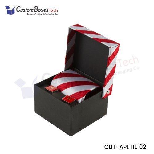 Custom Tie Packaging Boxes