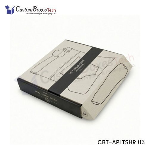 Custom Apparel Two Piece Packaging