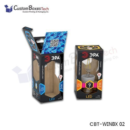Custom Window Packaging Boxes Wholesale