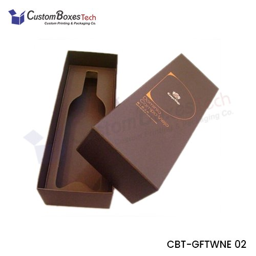 Custom Deluxe Wine Gift Packaging Boxes