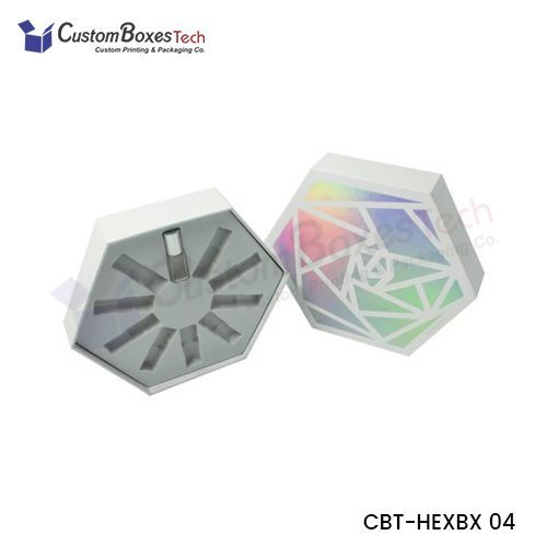 Custom Cosmetic Hexagon Packaging