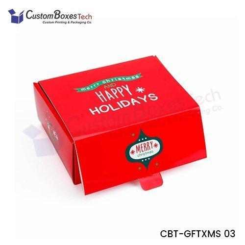 Custom Christmas Gift Packaging