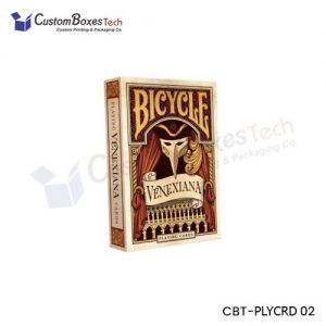 Custom Playing Card Packaging Boxes